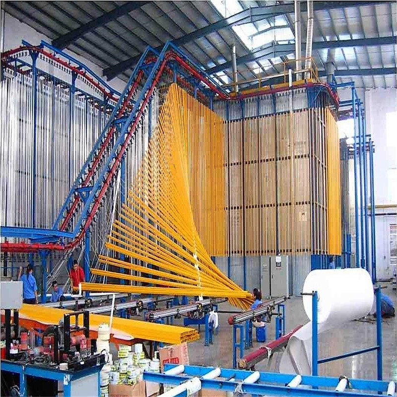 Vertical Aluminum Profile Powder Coating Machine 01