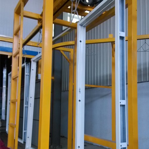Fire Door Powder Coating Machine-1