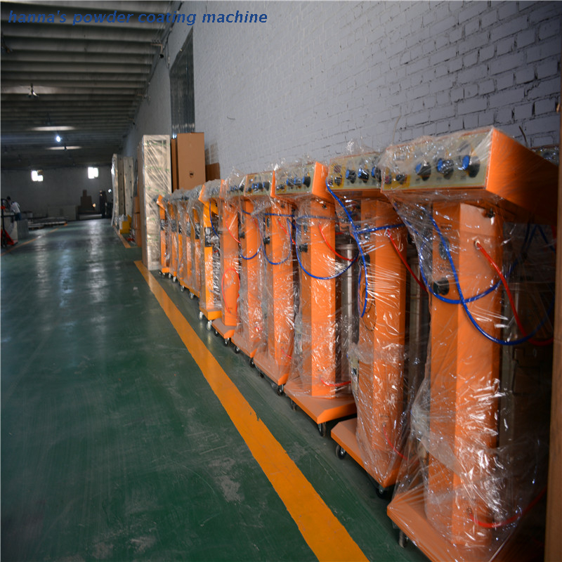 portable powder coating system