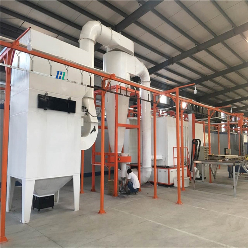 Automatic Fast Color Change Powder Spraying Machine 02