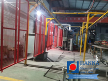 Fence Powder Coating Line