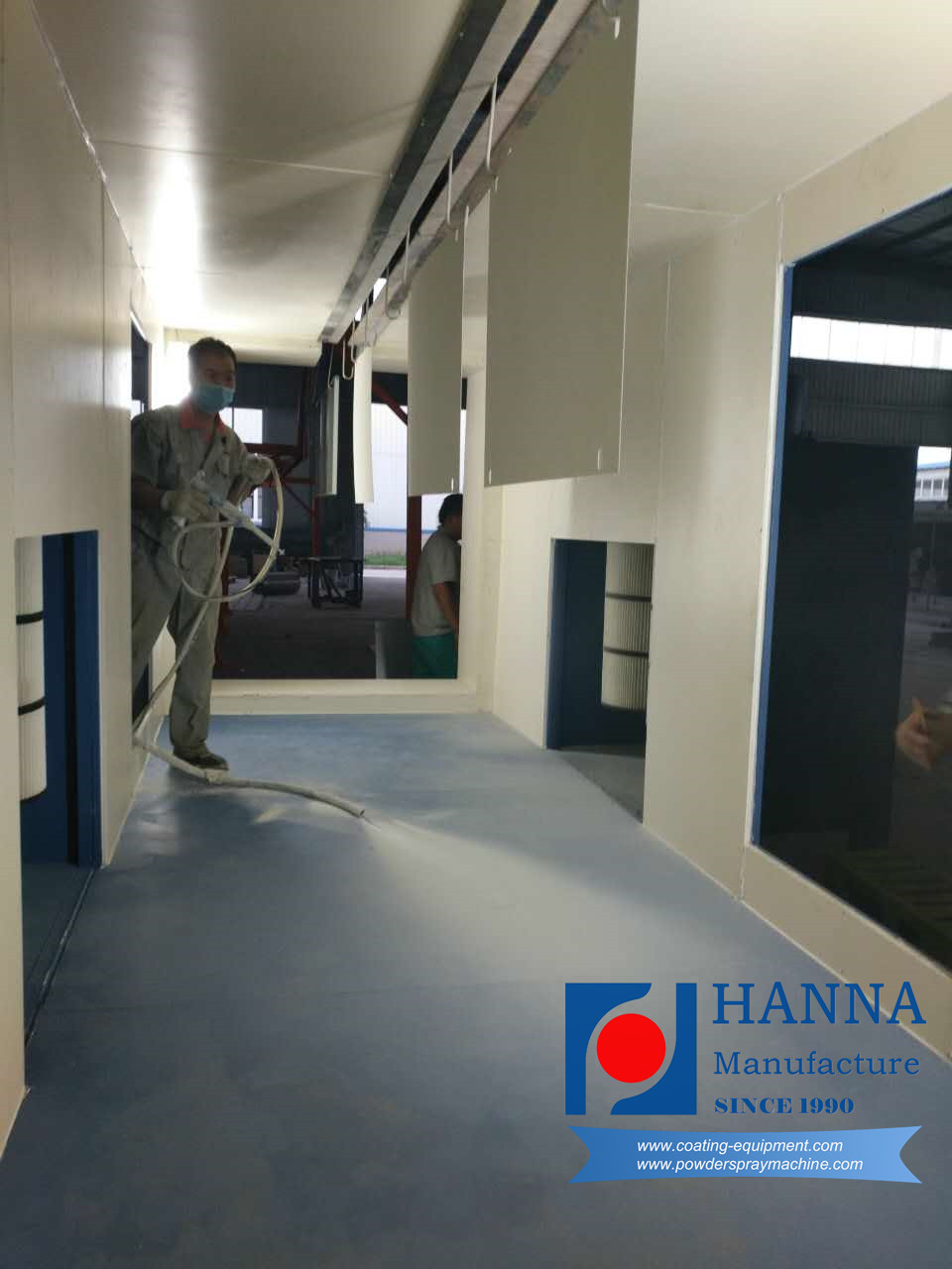Furniture Powder Coating System