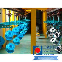 Valve &Steel Pipe Powder Coating Line