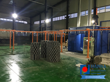 Sport Equipment Powder Coating Line